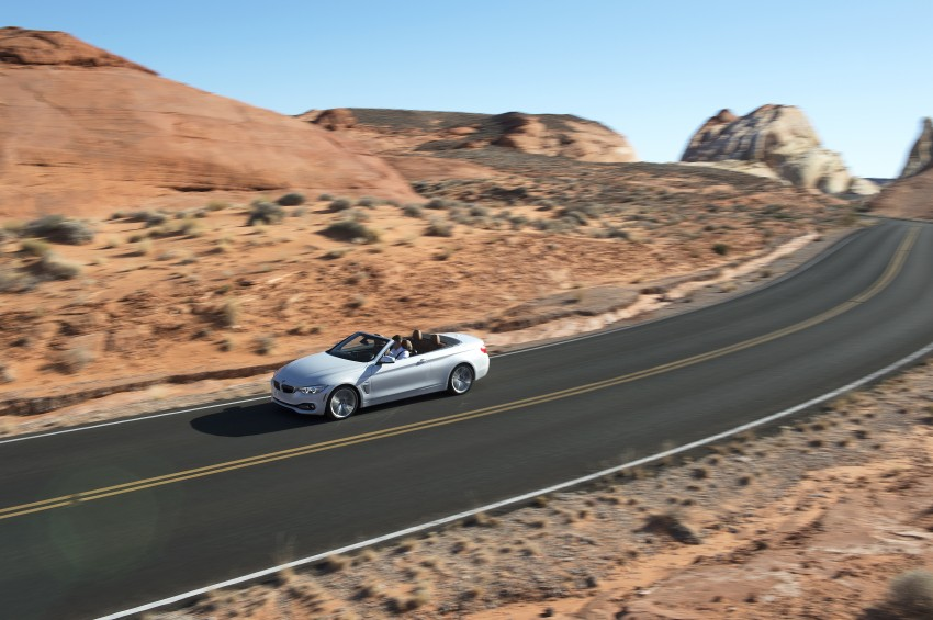DRIVEN: BMW 435i Convertible tested in Las Vegas Image #228900