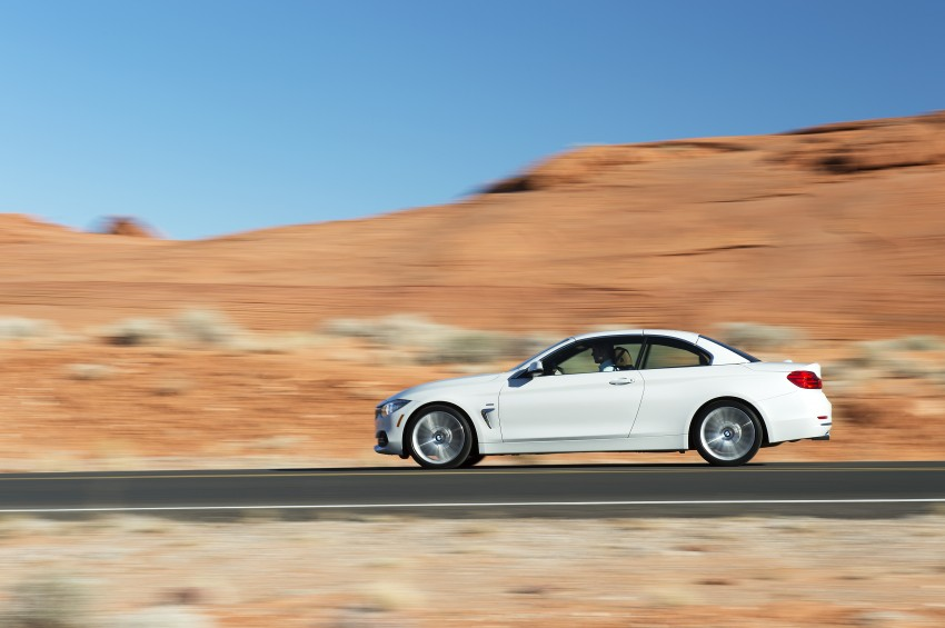 DRIVEN: BMW 435i Convertible tested in Las Vegas Image #228899