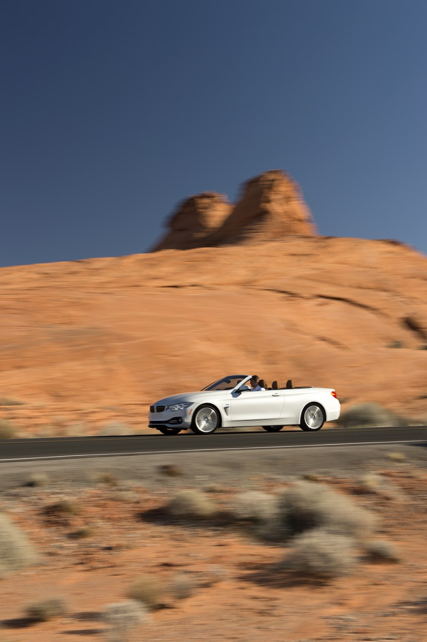 DRIVEN: BMW 435i Convertible tested in Las Vegas Image #228898