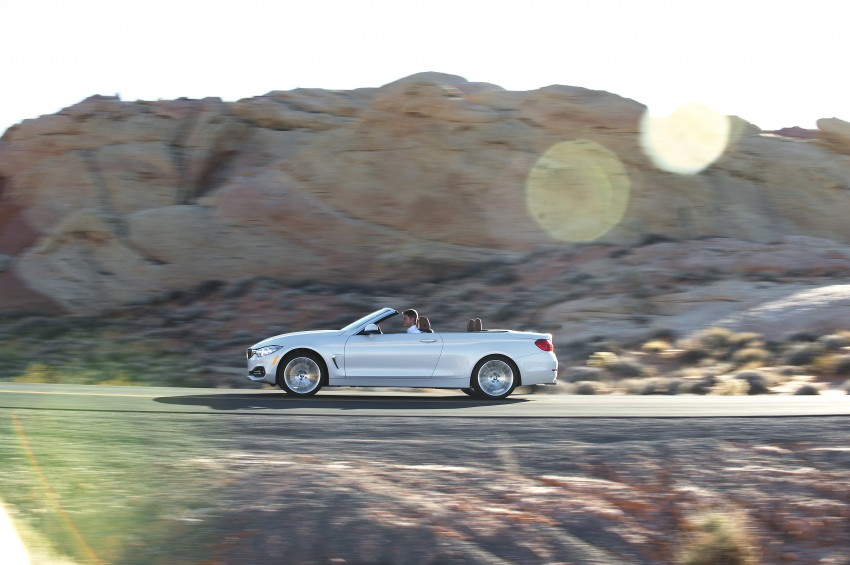 DRIVEN: BMW 435i Convertible tested in Las Vegas Image #228897