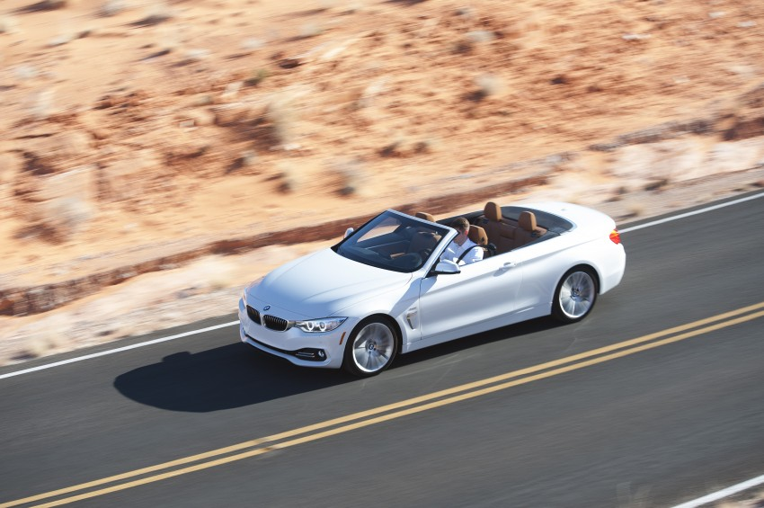 DRIVEN: BMW 435i Convertible tested in Las Vegas Image #228896
