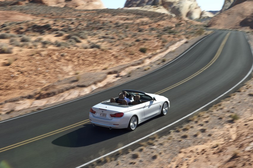 DRIVEN: BMW 435i Convertible tested in Las Vegas Image #228895