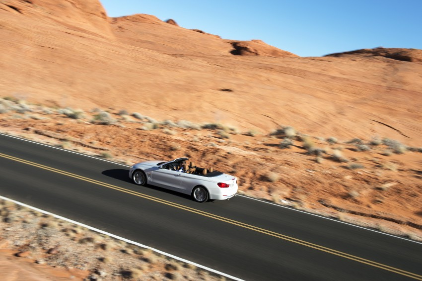 DRIVEN: BMW 435i Convertible tested in Las Vegas Image #228894