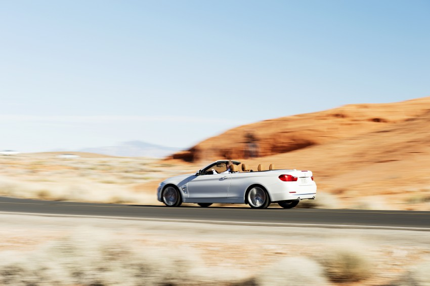 DRIVEN: BMW 435i Convertible tested in Las Vegas Image #228893