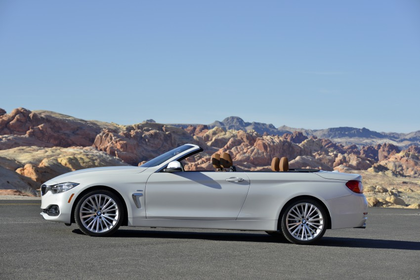DRIVEN: BMW 435i Convertible tested in Las Vegas Image #228891