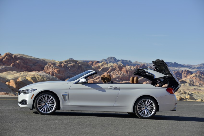 DRIVEN: BMW 435i Convertible tested in Las Vegas Image #228890