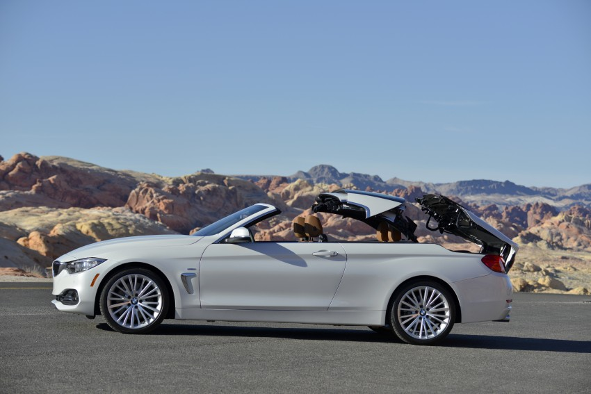 DRIVEN: BMW 435i Convertible tested in Las Vegas Image #228889