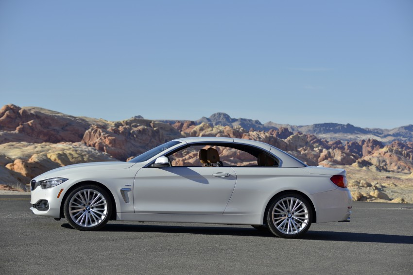 DRIVEN: BMW 435i Convertible tested in Las Vegas Image #228886