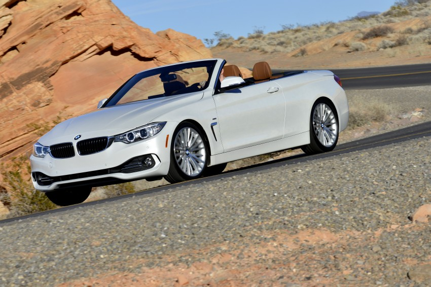 DRIVEN: BMW 435i Convertible tested in Las Vegas Image #228885