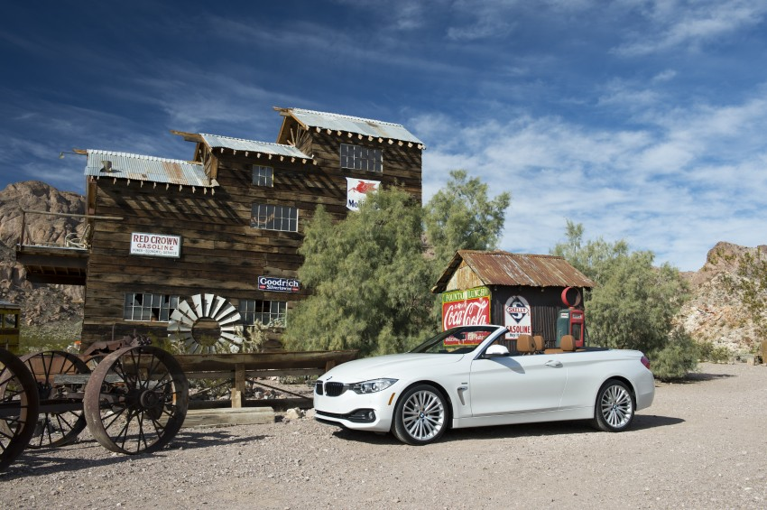 DRIVEN: BMW 435i Convertible tested in Las Vegas Image #228884