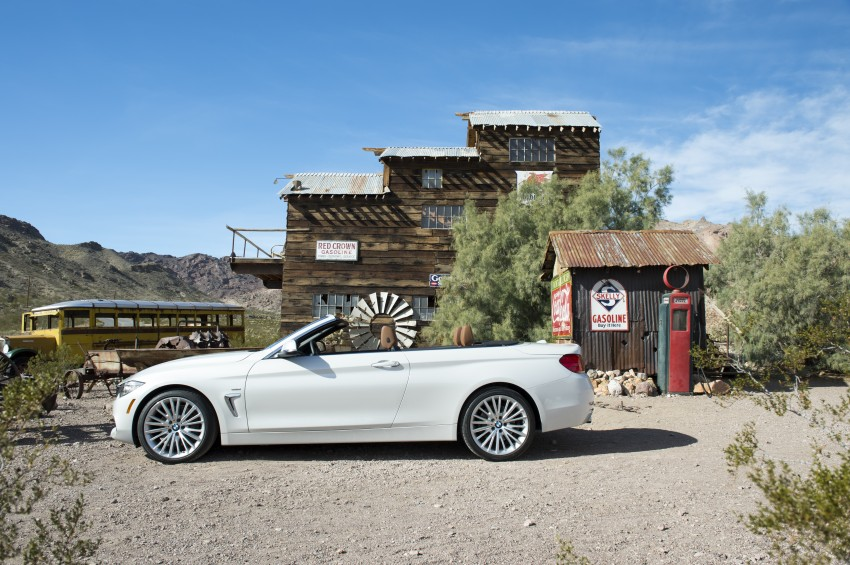 DRIVEN: BMW 435i Convertible tested in Las Vegas Image #228883