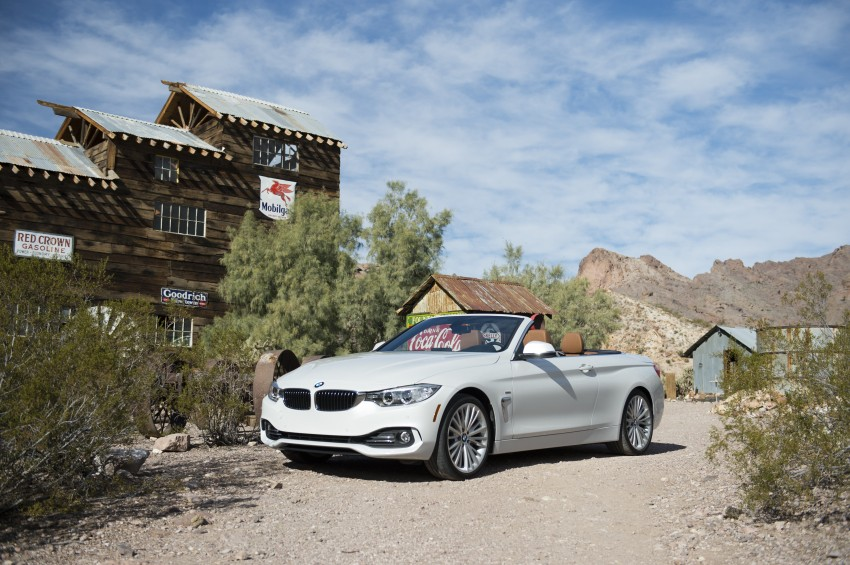 DRIVEN: BMW 435i Convertible tested in Las Vegas Image #228881