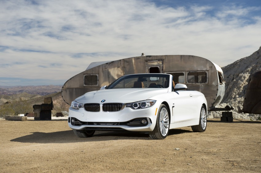 DRIVEN: BMW 435i Convertible tested in Las Vegas Image #228880