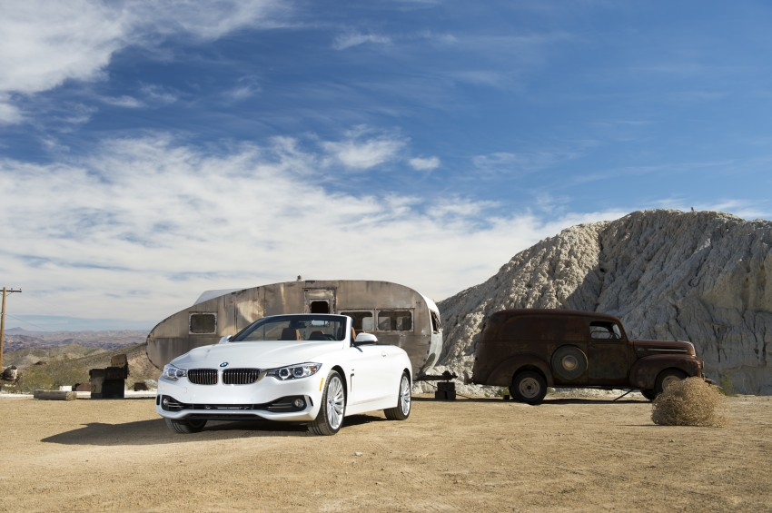 DRIVEN: BMW 435i Convertible tested in Las Vegas Image #228879