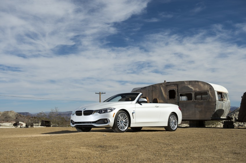 DRIVEN: BMW 435i Convertible tested in Las Vegas Image #228878