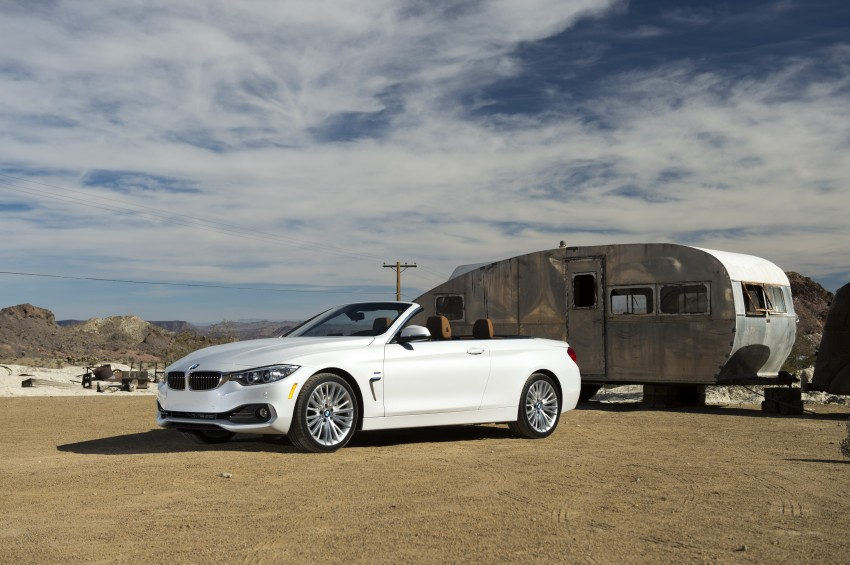 DRIVEN: BMW 435i Convertible tested in Las Vegas Image #228877