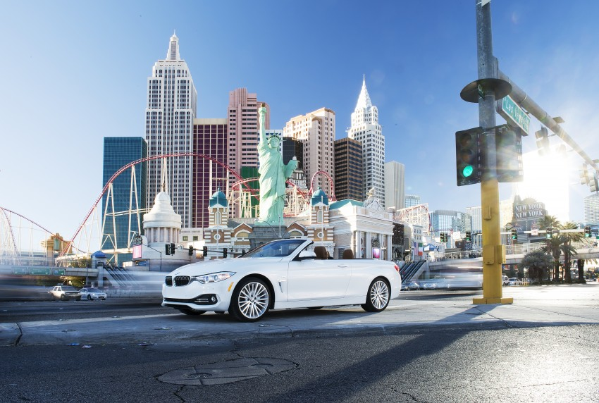 DRIVEN: BMW 435i Convertible tested in Las Vegas Image #228876
