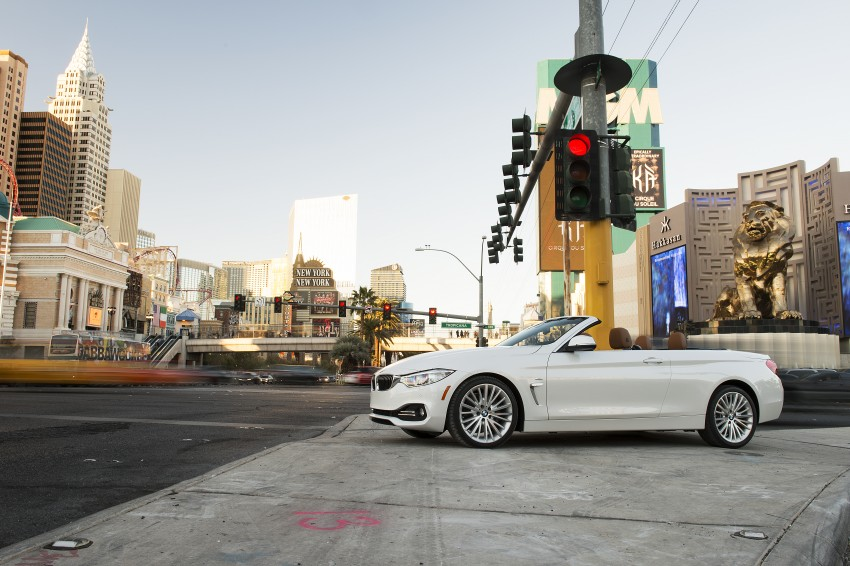 DRIVEN: BMW 435i Convertible tested in Las Vegas Image #228875