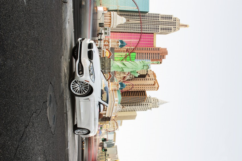DRIVEN: BMW 435i Convertible tested in Las Vegas Image #228874
