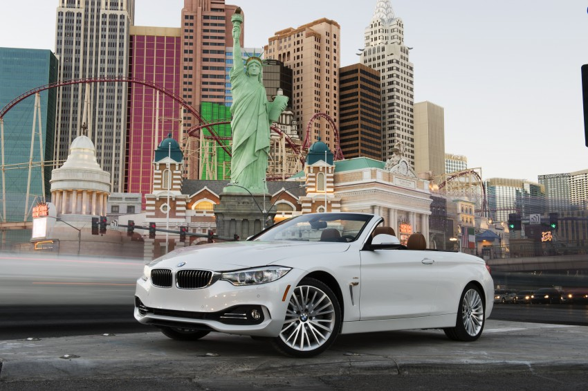 DRIVEN: BMW 435i Convertible tested in Las Vegas Image #228873