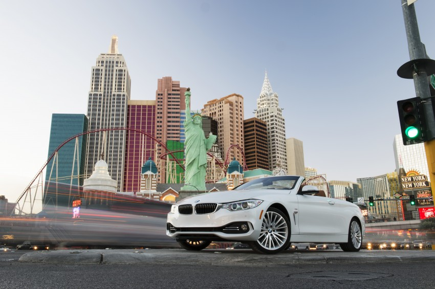 DRIVEN: BMW 435i Convertible tested in Las Vegas Image #228872