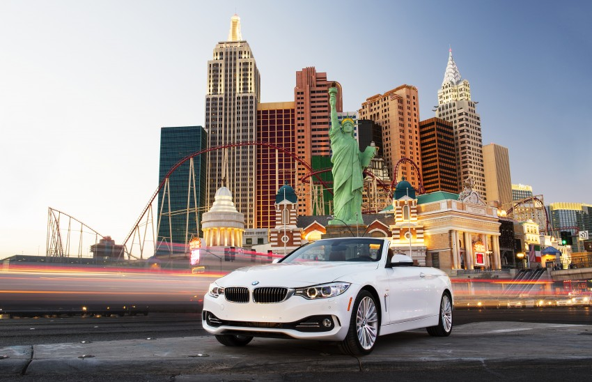 DRIVEN: BMW 435i Convertible tested in Las Vegas Image #228871