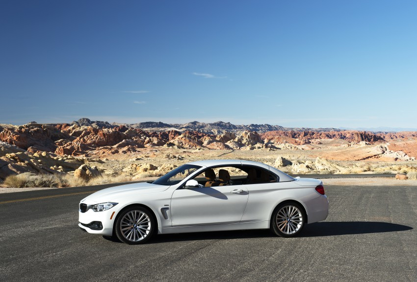 DRIVEN: BMW 435i Convertible tested in Las Vegas Image #228870