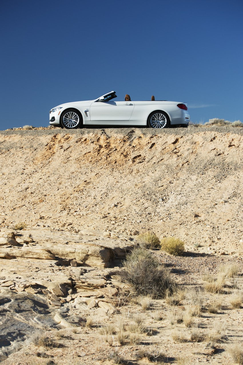 DRIVEN: BMW 435i Convertible tested in Las Vegas Image #228868