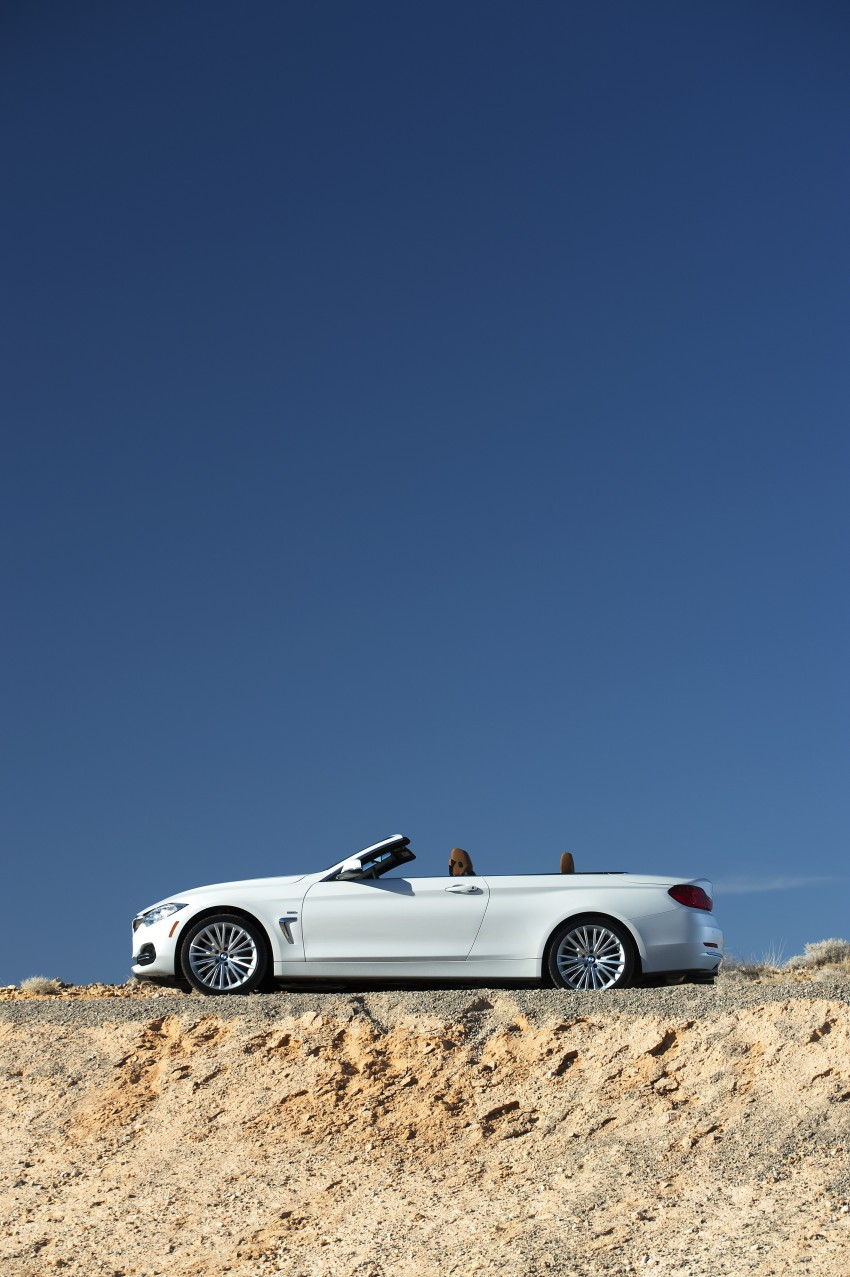DRIVEN: BMW 435i Convertible tested in Las Vegas Image #228867