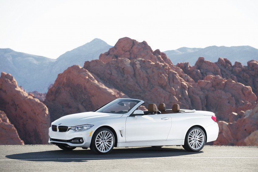 DRIVEN: BMW 435i Convertible tested in Las Vegas Image #228866