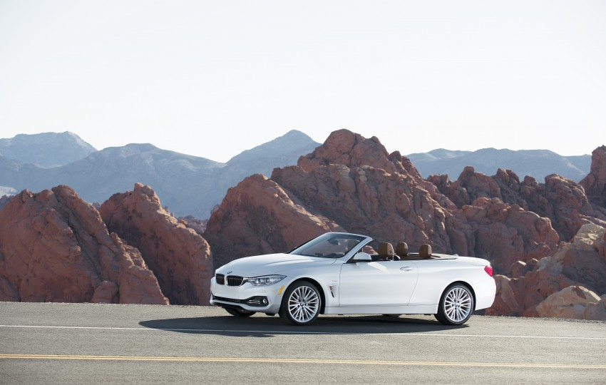 DRIVEN: BMW 435i Convertible tested in Las Vegas Image #228865