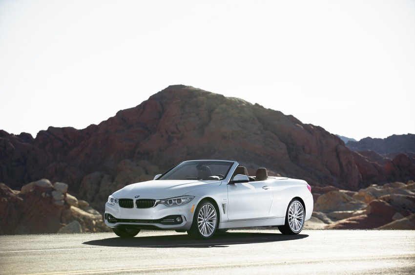 DRIVEN: BMW 435i Convertible tested in Las Vegas Image #228864