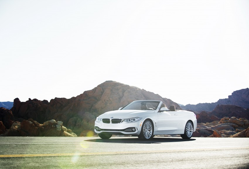 DRIVEN: BMW 435i Convertible tested in Las Vegas Image #228863