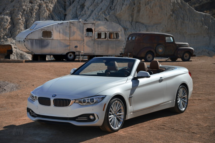 DRIVEN: BMW 435i Convertible tested in Las Vegas Image #228862
