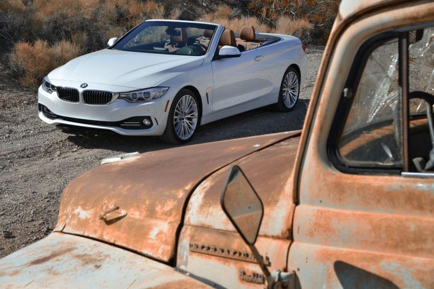 DRIVEN: BMW 435i Convertible tested in Las Vegas Image #228861