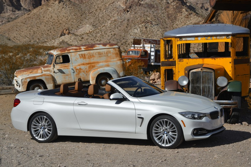 DRIVEN: BMW 435i Convertible tested in Las Vegas Image #228858