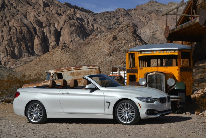 DRIVEN: BMW 435i Convertible tested in Las Vegas Image #228857