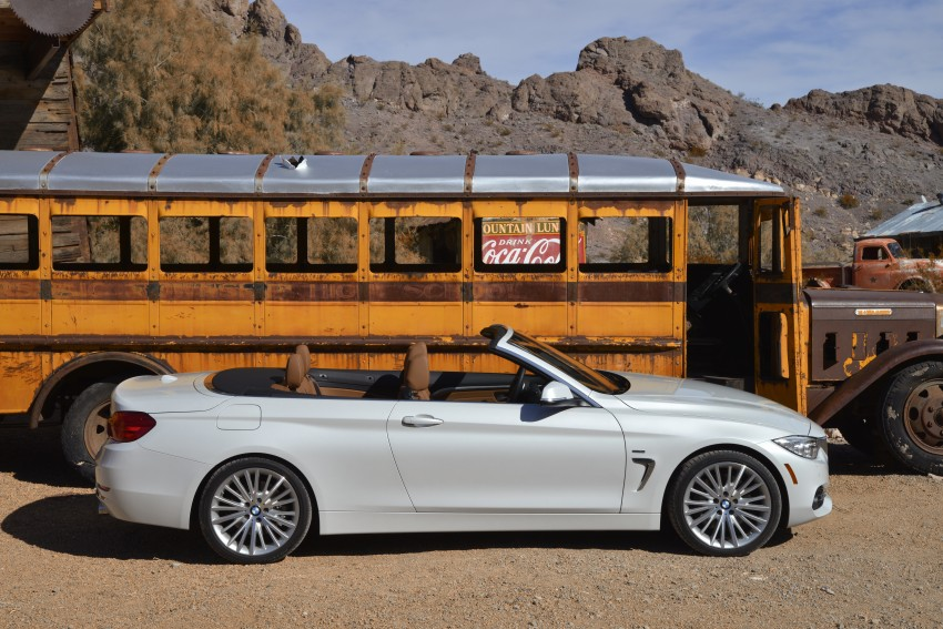 DRIVEN: BMW 435i Convertible tested in Las Vegas Image #228856