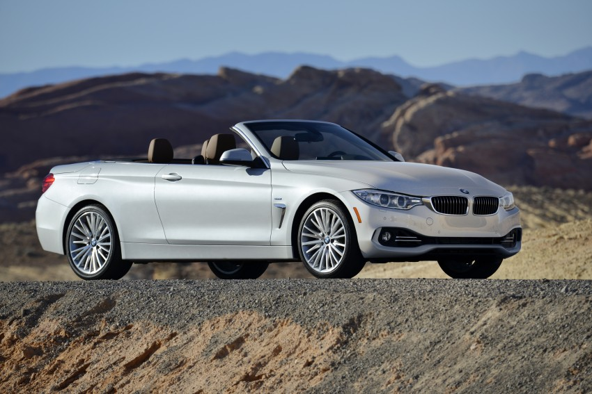 DRIVEN: BMW 435i Convertible tested in Las Vegas Image #228853