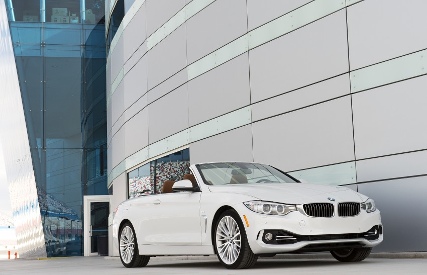 DRIVEN: BMW 435i Convertible tested in Las Vegas Image #228850
