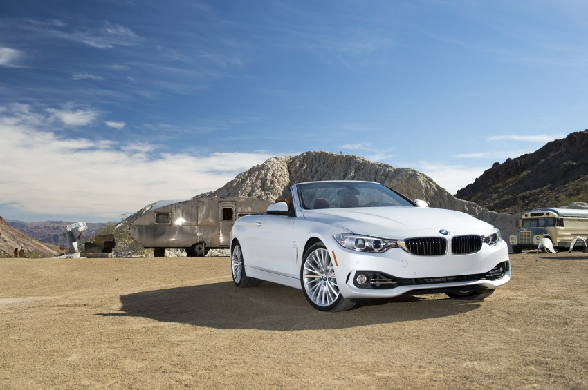 DRIVEN: BMW 435i Convertible tested in Las Vegas Image #228849