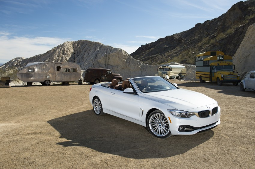 DRIVEN: BMW 435i Convertible tested in Las Vegas Image #228848