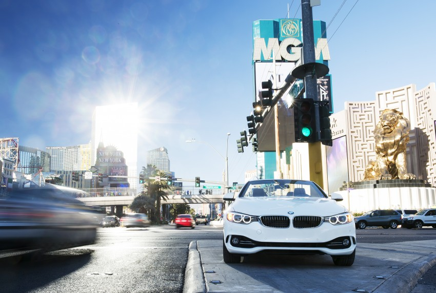DRIVEN: BMW 435i Convertible tested in Las Vegas Image #228847