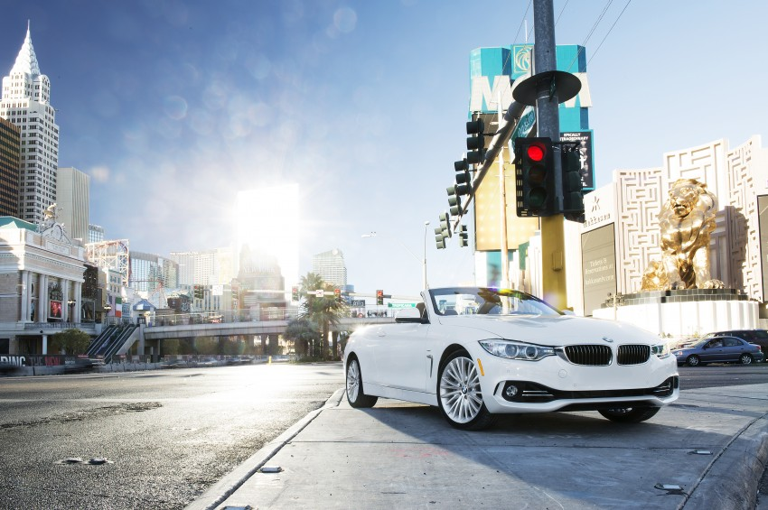 DRIVEN: BMW 435i Convertible tested in Las Vegas Image #228846