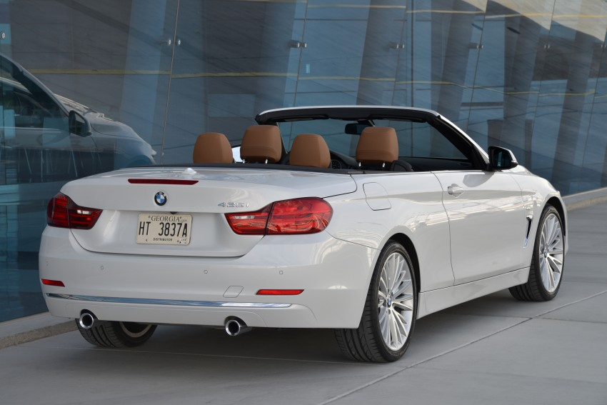 DRIVEN: BMW 435i Convertible tested in Las Vegas Image #228845
