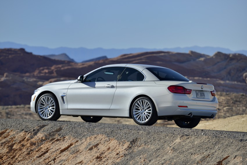 DRIVEN: BMW 435i Convertible tested in Las Vegas Image #228844