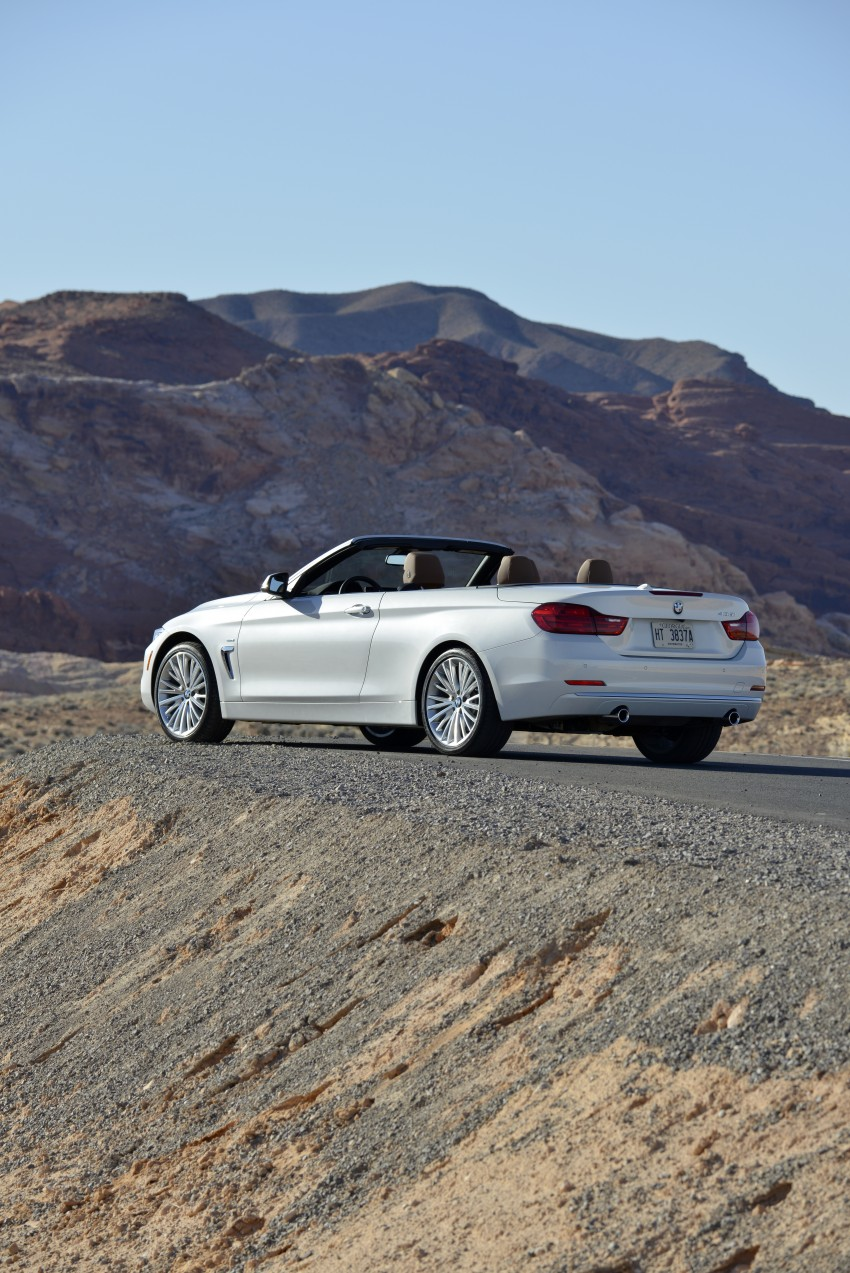 DRIVEN: BMW 435i Convertible tested in Las Vegas Image #228843