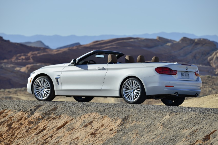 DRIVEN: BMW 435i Convertible tested in Las Vegas Image #228842