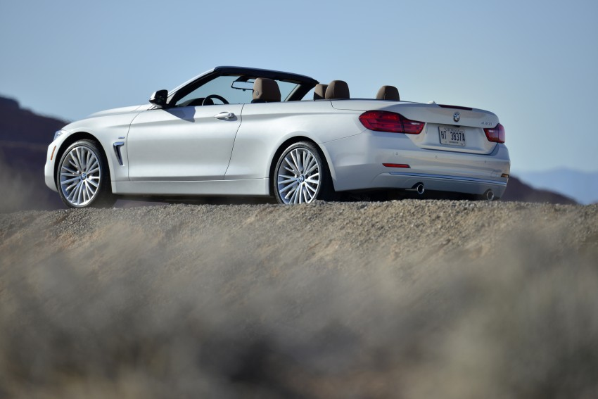 DRIVEN: BMW 435i Convertible tested in Las Vegas Image #228841