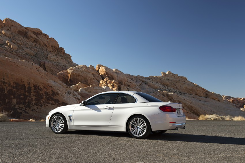DRIVEN: BMW 435i Convertible tested in Las Vegas Image #228840